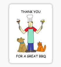 Thanks for a great BBQ Sticker