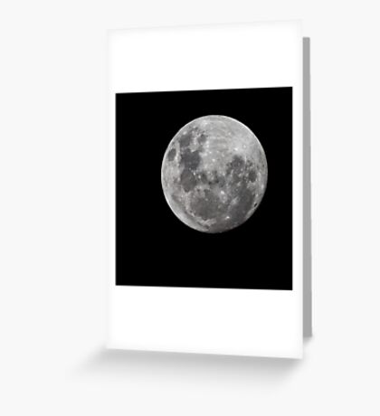 Moonth Greeting Card