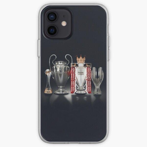 Étui de téléphone pour les trophées de Liverpool Coque souple iPhone