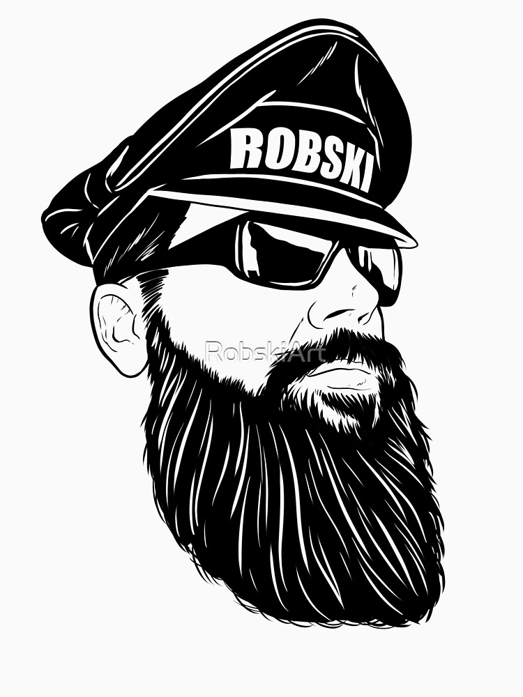 Leather Daddy Dom black lines by RobskiArt