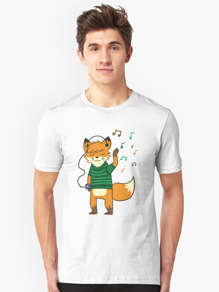 Foxy Unisex T-Shirt Front
