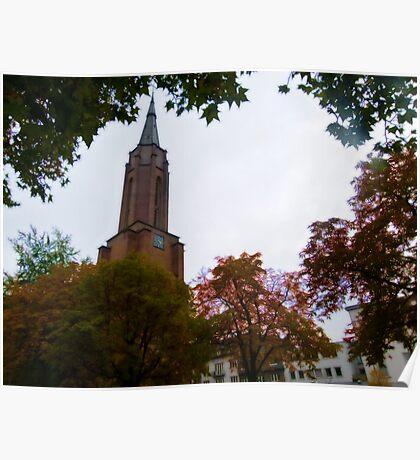 Kreuzkirche, Bonn Poster