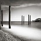 Old Brighton Pier by Mark Smart