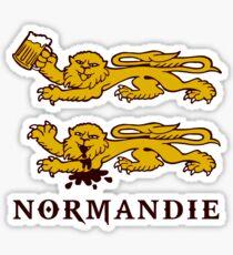 normandie lion normand Sticker