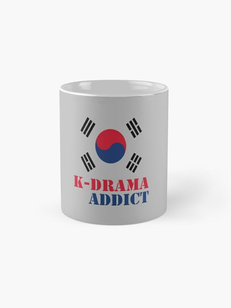 Alternate view of K-drama Addict Mug