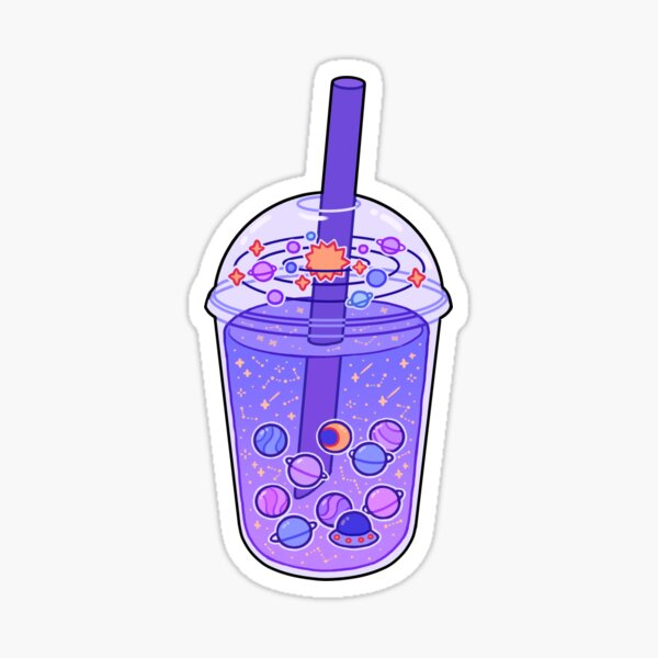 Planet Boba  Sticker