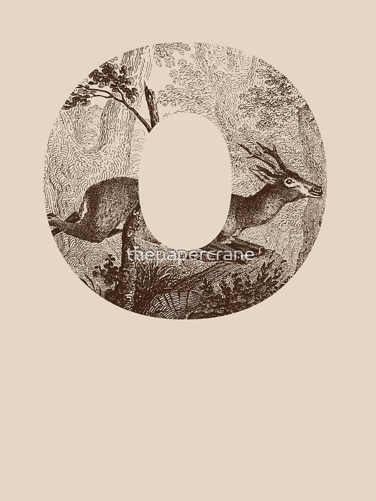 O Hirsch von thepapercrane
