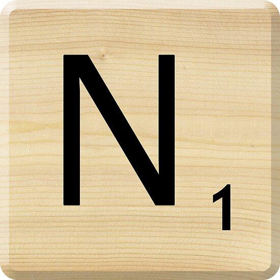 Scrabble Letter U