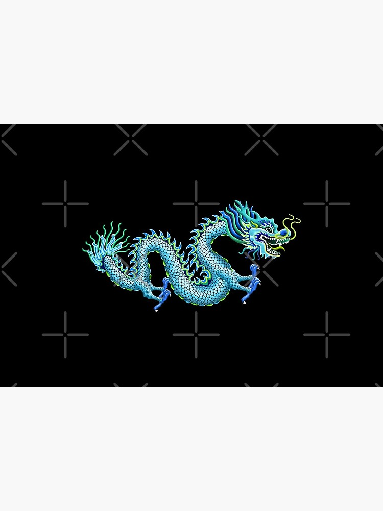 Blue Chinese Dragon by 99stars