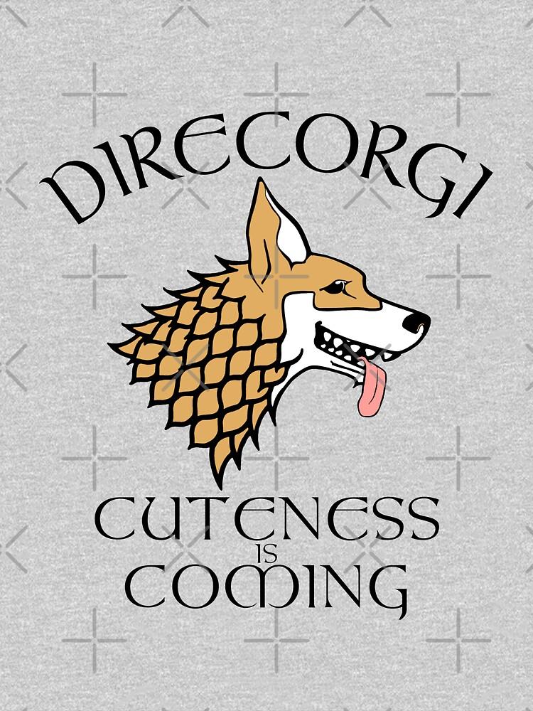 TShirtGifter presents: DireCorgi | Unisex T-Shirt