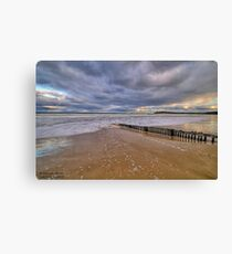 Raafs Beach Hdr Canvas Print