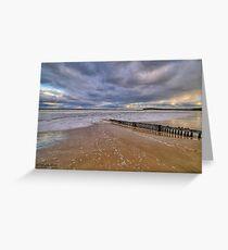 Raafs Beach Hdr Greeting Card