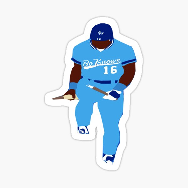 BO KNOWS HOW TO CRACK HIS BAT STICKER  Sticker