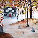 The Ghost of Bachelor Grove Cemetery by Aradia