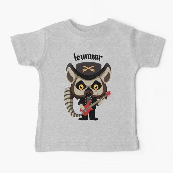 Lemmur - Lemmy (Motorhead) with Lemur Baby T-Shirt