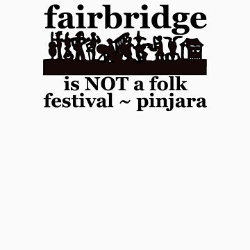 Fairbridge is NOT a folk festival! (3 inches plus a bit lower) by ligortees