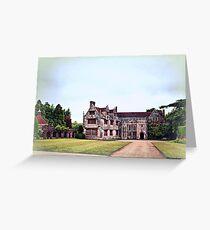 Athelhampton- The Haunted House Greeting Card
