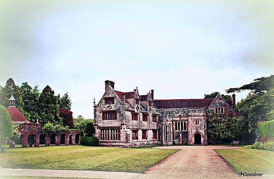 Athelhampton- The Haunted House by naturelover