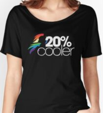 20% Cooler! (ALL options) - BLACK Women's Relaxed Fit T-Shirt