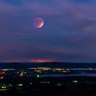 Blood Moon Over the Ozarks by Herb Spickard