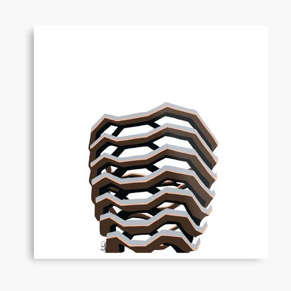 The Vessel Metal Print