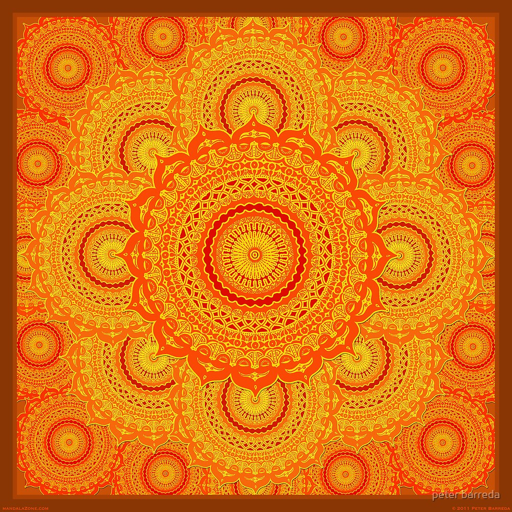 omulyana dancing mandala by peter barreda