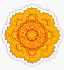 omulyana dancing mandala Sticker