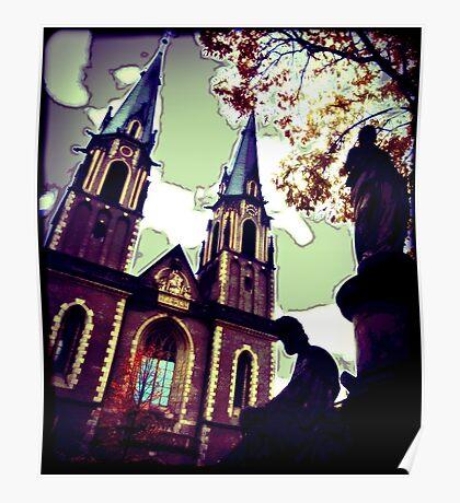 Stiftskirche, Bonn Poster