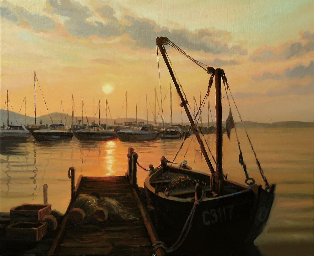 Sun Path by kirilart
