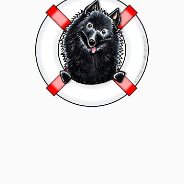 Schipperke :: First Mate by offleashart