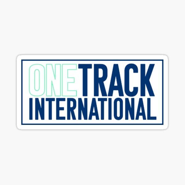 ONETrack International Rectangle Logo Sticker