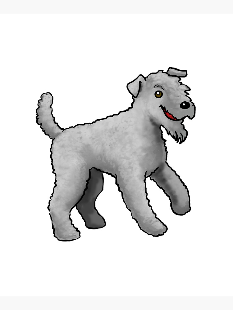Kerry Blue Terrier - Gray by jameson9101322