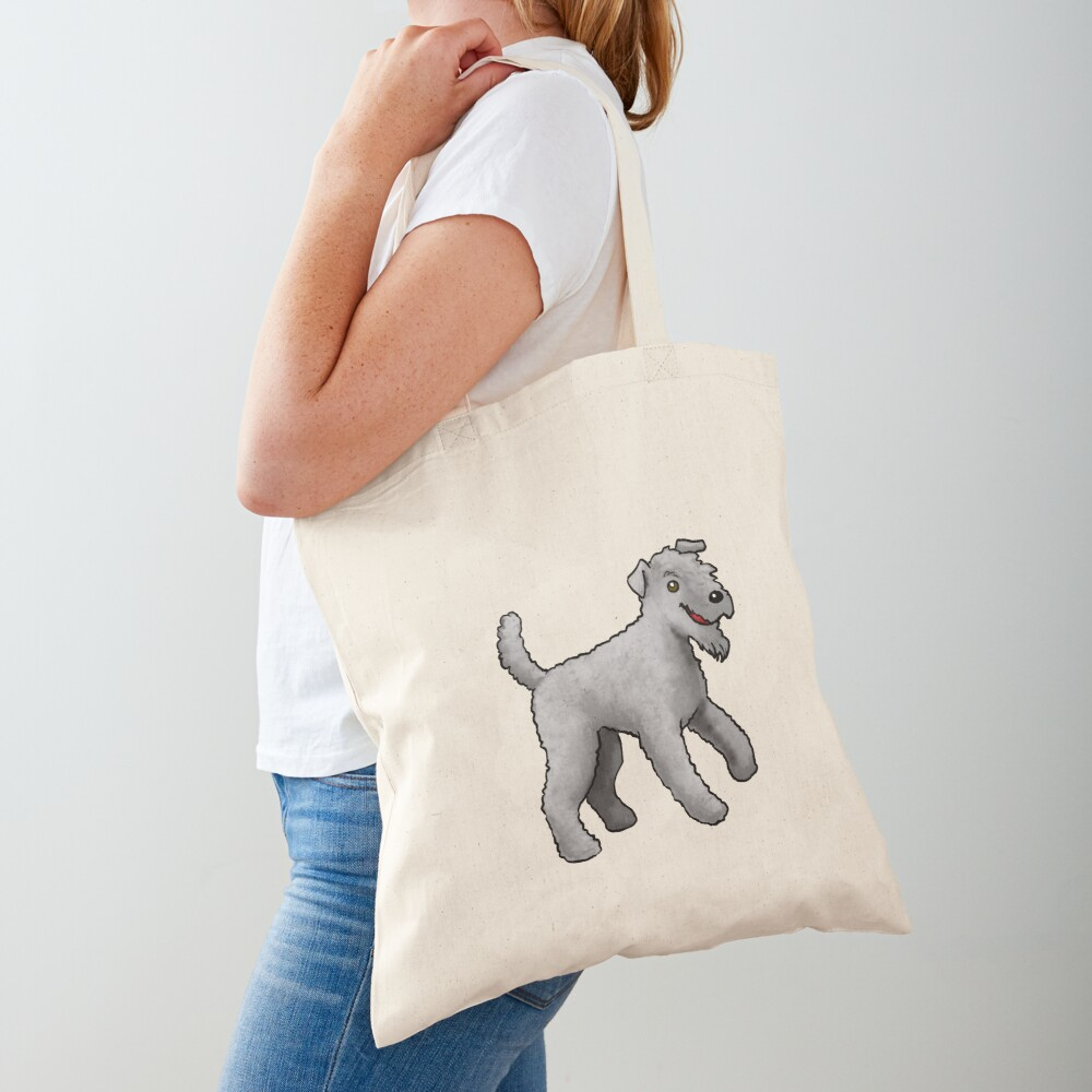 Kerry Blue Terrier - Gray Tote Bag