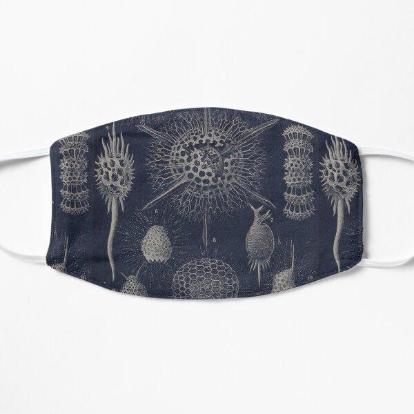 Vintage Radiolaria Fossils Flat Mask