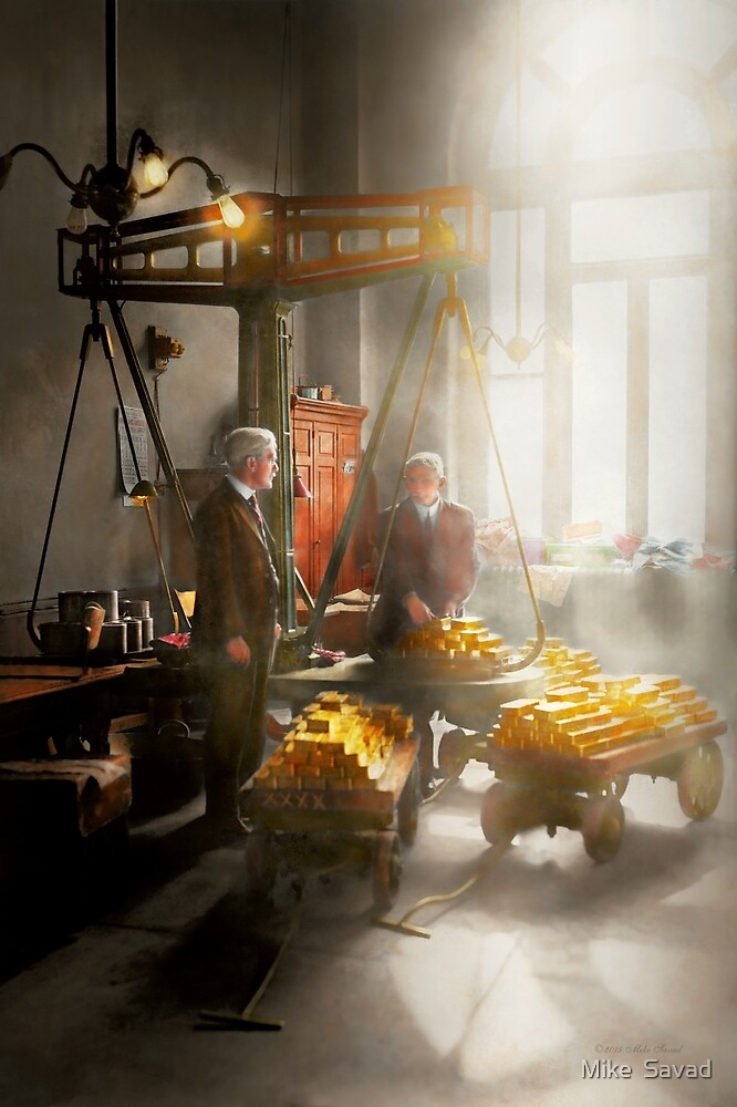 Banker - Worth its weight in gold by Michael Savad