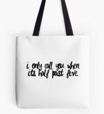 Half Past Five Tote Bag
