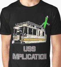 USS Implication Graphic T-Shirt