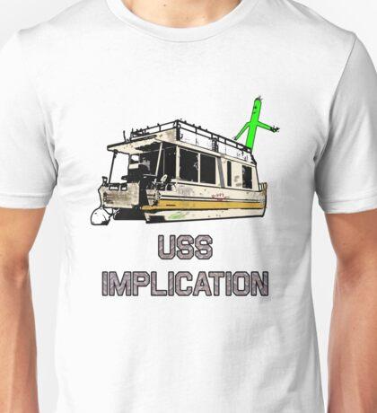 USS Implication Unisex T-Shirt