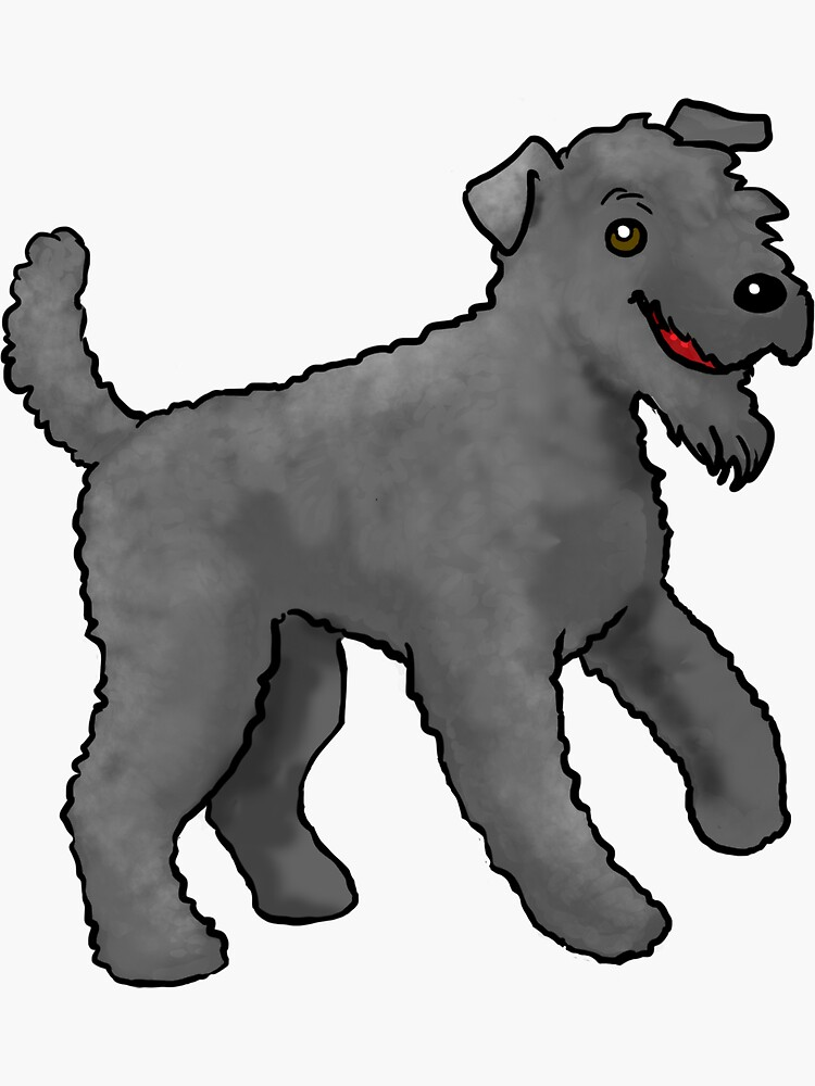 Kerry Blue Terrier - Black by jameson9101322