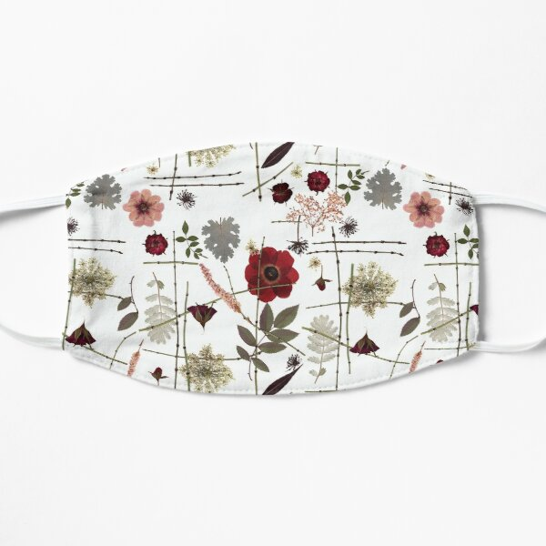 Anemone and Roses Mask