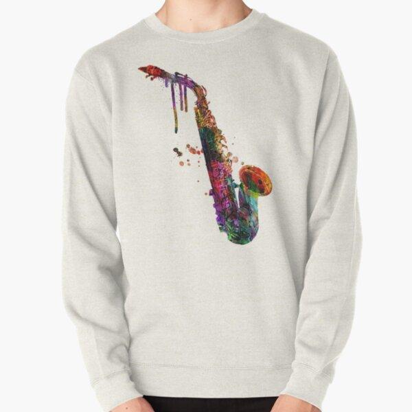 saxophone  Pullover Sweatshirt
