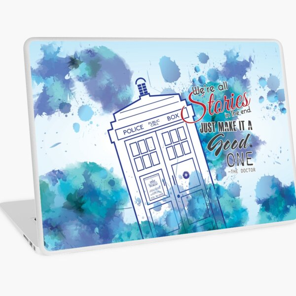 We're All Stories Laptop Skin