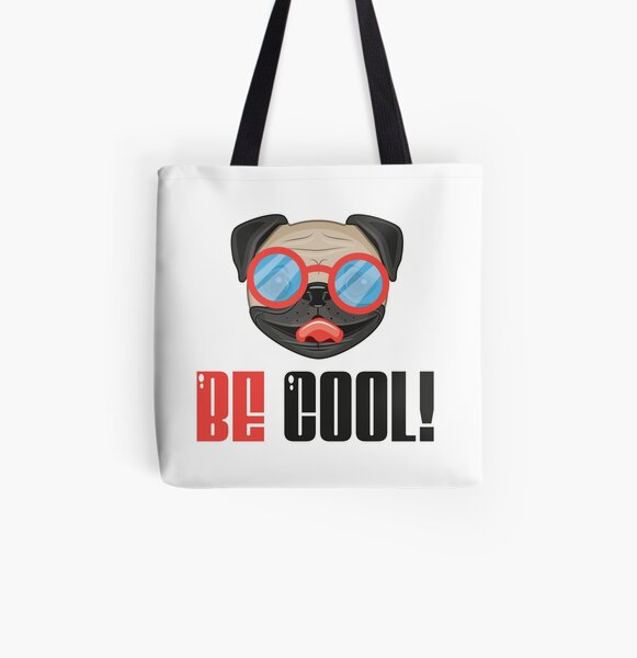 bulldog - be cool All Over Print Tote Bag