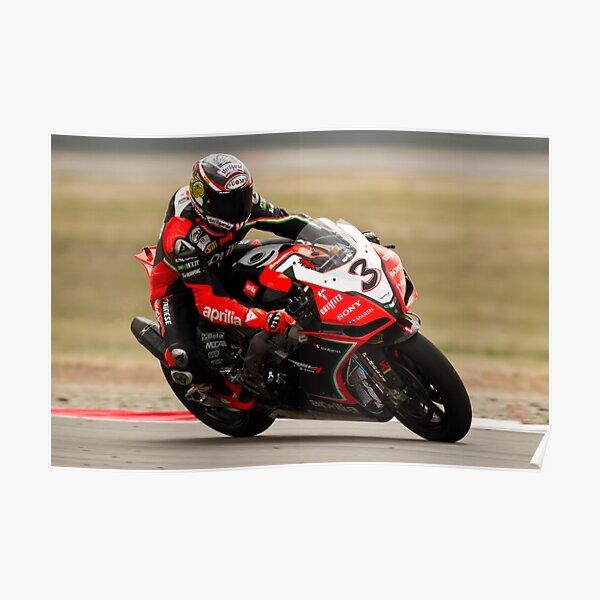 MAX BIAGGI au parc Miller Motorsports 2012 Poster