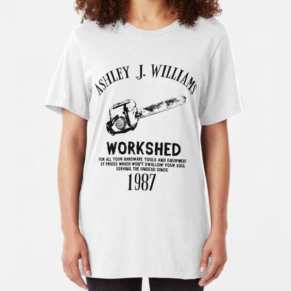 Ash vs Evil Dead - Ash's Chainsaw Slim Fit T-Shirt