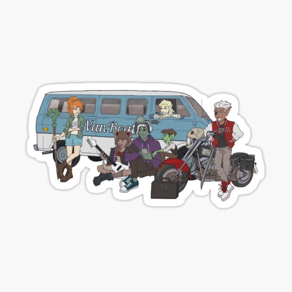 The Bad Kids - Fantasy High Sticker