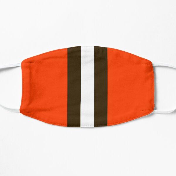 Masque à rayures Cleveland Browns Masque sans plis
