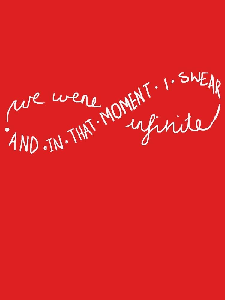 TShirtGifter presents: I swear we were infinite. | Unisex T-Shirt