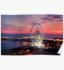 Brighton Nightscape IV Poster