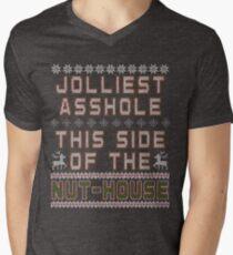 Christmas Vacation - Jolly Asshole Shirts Only Men's V-Neck T-Shirt